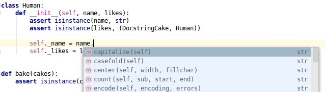 type checking: isinstance type hint in pycharm