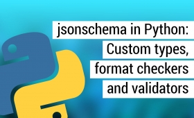 jsonchema: Custom type, format and validator in Python